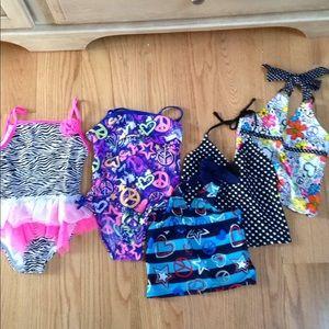 Other - Bundle girls sz 6/6x swim wear
